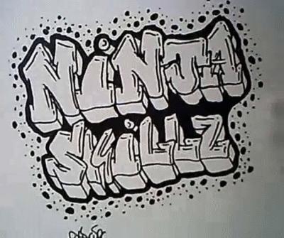 Учимся рисовать граффити